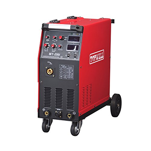 topwell-250amp-mig-welder-capable-of-flux-core-and-gas-shielded-welding-220v