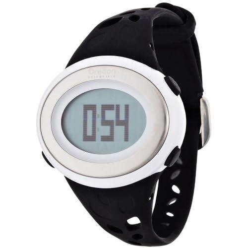 [オレゴン]Oregon 腕時計 エントリーモデル デジタル心拍計 フィンガータッチ式 消費カロリー表示 ストップウォッチ機能付き ブラック SE332BK レディース 【正規輸入品】