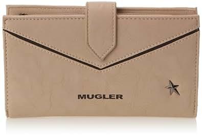 Thierry Mugler Symetric Pm1, Portefeuille - Multicolore (5H10 Beige/Noir), Taille Unique