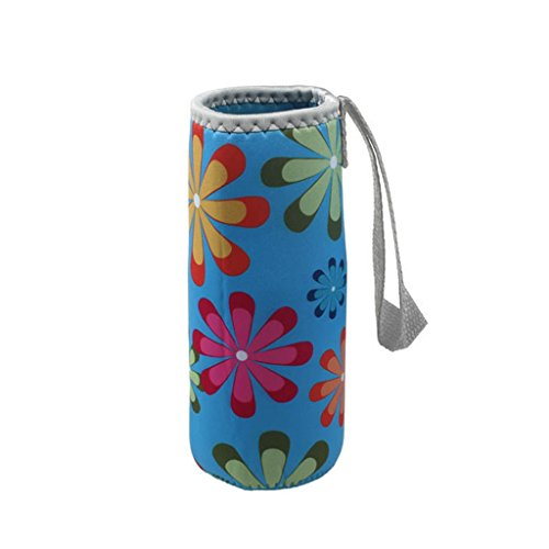 Hatop New Warm Heat Insulation 500ML Water Bottle Bags Thermos Cup Bag (Blue) (Insulated Bottle Sleeve compare prices)