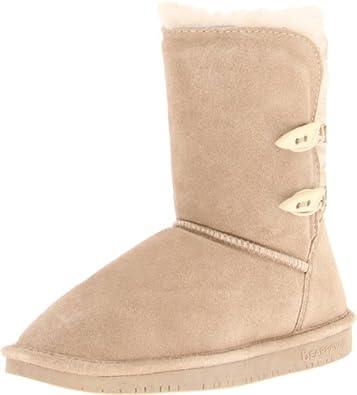 BEARPAW Women's Abigial Boot,Camel,6 M US