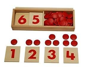 Kid Advance Co. Montessori Cards & Counters
