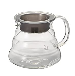 Hario V60 Range Coffee Server, 360ml, Clear by Hario
