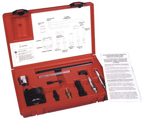 Lang Tools (5238) Master Power Steering Pulley Remover and Installer Set (Master Power Steering Puller compare prices)