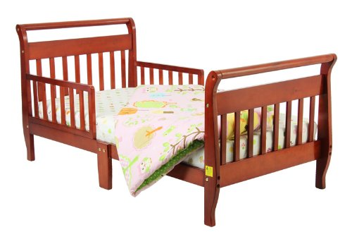 Great Features Of Dream On Me Classic Sleigh Toddler Bed, Cherry
