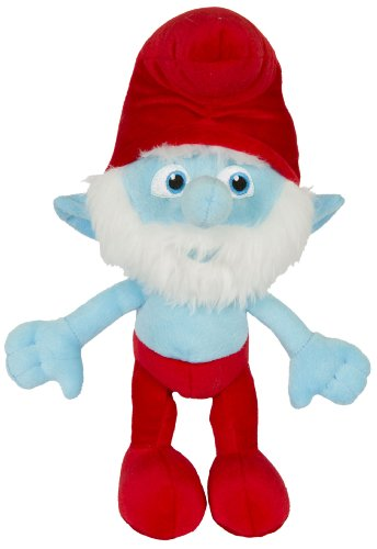 "Movie The Smurfs 9.5""  Plush Figure Doll - Papa Smurf"