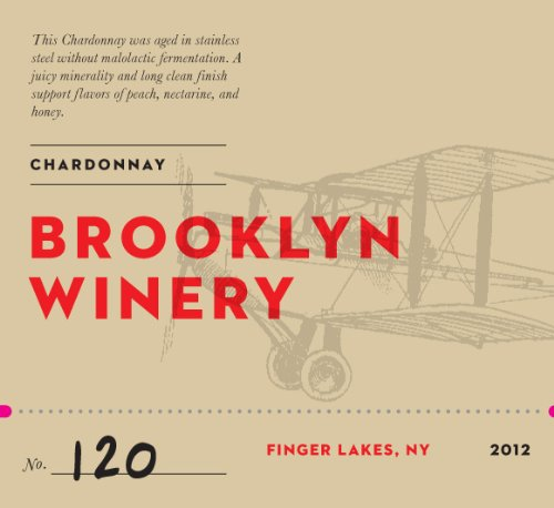 2012 Brooklyn Winery Stainless Steel Aged Chardonnay 750 Ml