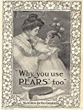 Moonlizard Pears Soap Vintage Advert No 50 Metal Plaque Sizes - 8