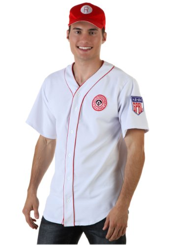 Men's Rockford Peaches Adult Costume