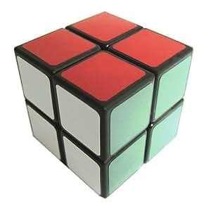 Cube Magique 2X2 - noir - Cubikon Lucky Lion