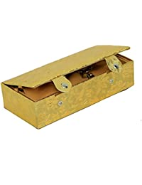 Kuber Industries™ Designer Jewellery Box (Hard Board Material)Wedding Collection Gift Golden-3236