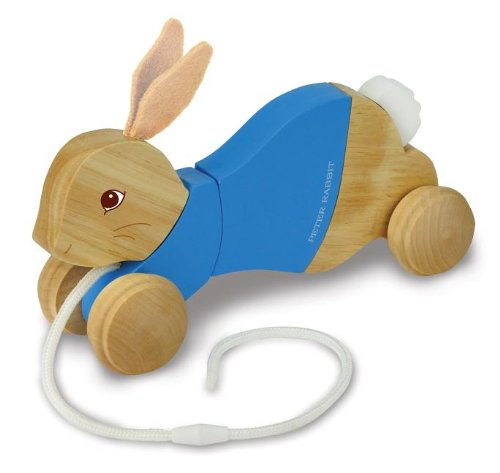 Peter Rabbit Wood Pull Toy front-887266