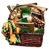 41pB ZWI9fL. SL160  Luck o the Irish St. Patricks Day Gourmet Treats Gift Basket
