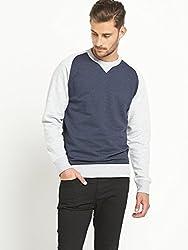 KOTTY Colourblock Mens Sweatshirt - Navy