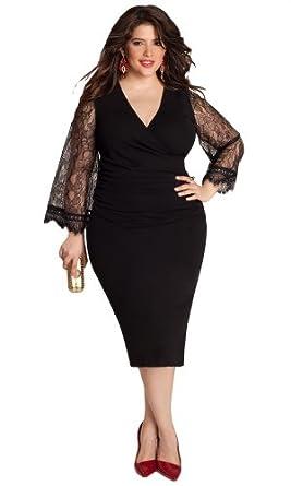 IGIGI Women's Plus Size Paola Dress 30/32 at Amazon Women