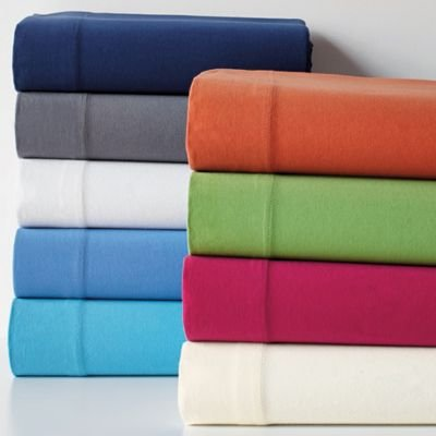 Jersey Knit Fitted Sheet, Twin Xl - The Company Store