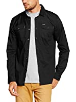 Pepe Jeans London Camisa Hombre Chad (Negro)