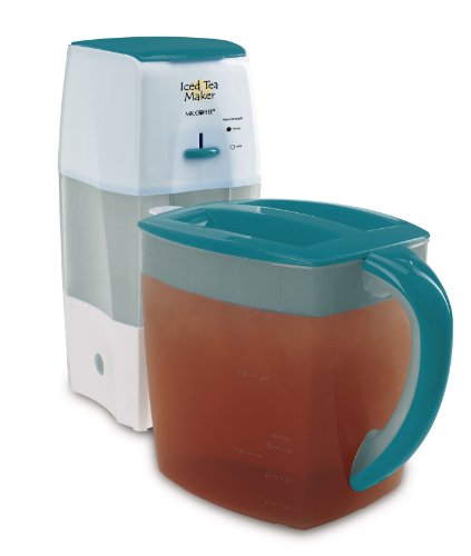Mr. Coffee TM75TS Fresh Tea Iced Tea Maker, Teal (Mr Coffee Iced Tea Cafe compare prices)
