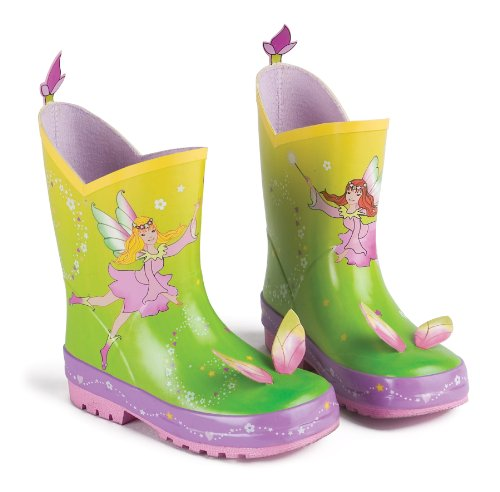 Woodland Fairy Kidorable Rain Boots/Wellies – Size 9