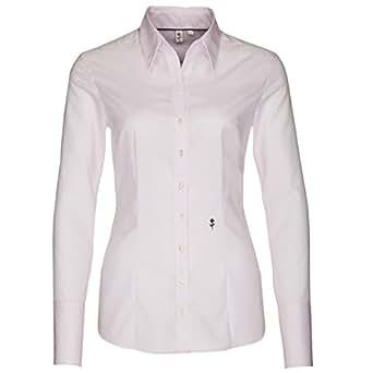 Schwarze Rose Damen Bluse Slim Fit, 080613 34,rosa (0045)