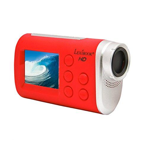 Lexibook - Cámara de movimiento, color rojo (Lexibook DJA100)