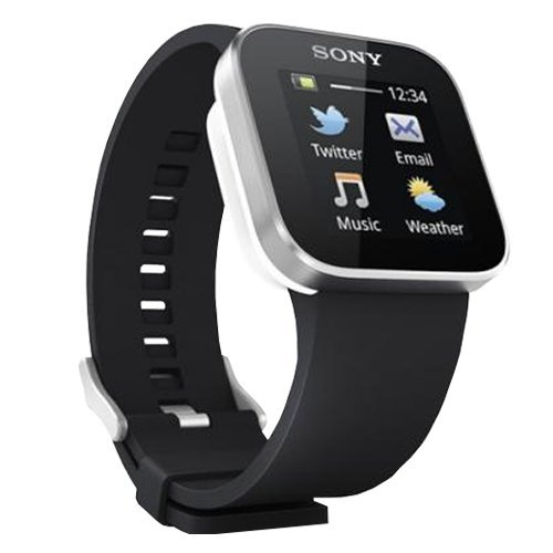 Shopping!: Sony Ericsson ERSSMWATCH - Reloj con pantalla táctil para móviles con Android, color negro y plateado
