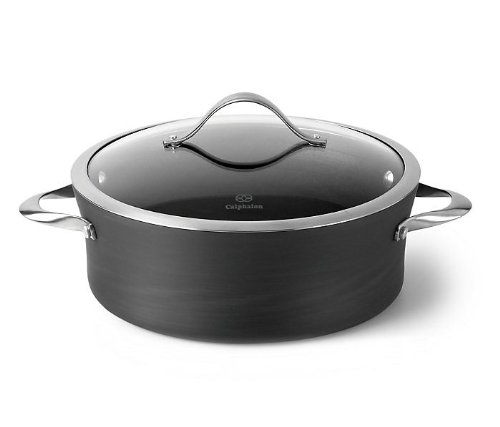 Calphalon 1876968 Contemporary Nonstick Dishwasher Safe Dutch Oven with Cover, 5-Quart