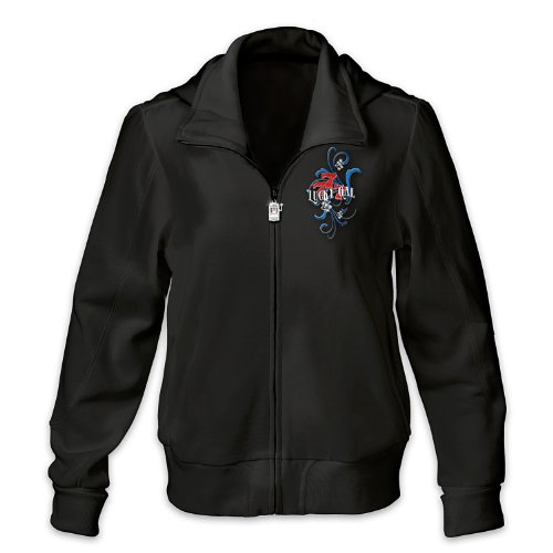 Women's Jacket: Lucky And Loving It Women's Hoodie by The Bradford Exchange - 3X (Lucky Gem Casino compare prices)