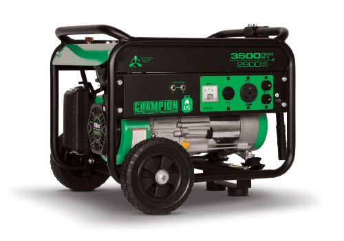 Champion Power Equipment No.76530 LP/Propane Portable Generator, 3500-watt