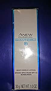 AVON ANEW Clinical Skinvincible Multi-Sheild Lotion Broad Spectrum SPF 50 Full Size Bottle 1.0 OZ ONLY
