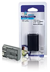HQ Batterie Lithium-ion de rechange pour Canon BP-511, BP-511A, BP-512, BP-514 (Import Royaume Uni) (Import Royaume Uni)
