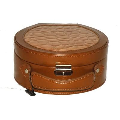 jewelry box tuscan designs brown leather