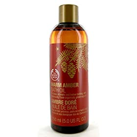 Body Shop Warm Amber Bath Oil