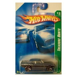 2008 Hot Wheels Treasure Hunts '69 Camaro w/ OH5SPs #12 (172 of 196) - 1