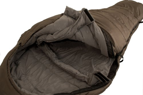Browning Camping Kenai 10-Degree Nylon Diamond Ripstop Extra Wide Mummy Sleeping Bag (40 x 86-Inch)