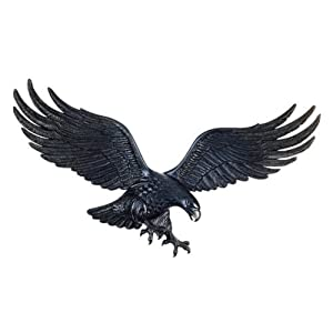 Whitehall 36 Inch Wall Eagle - Antique Brass