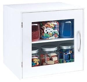 Amazon Com Jetmax Simply Built Craft Storage Glass Door