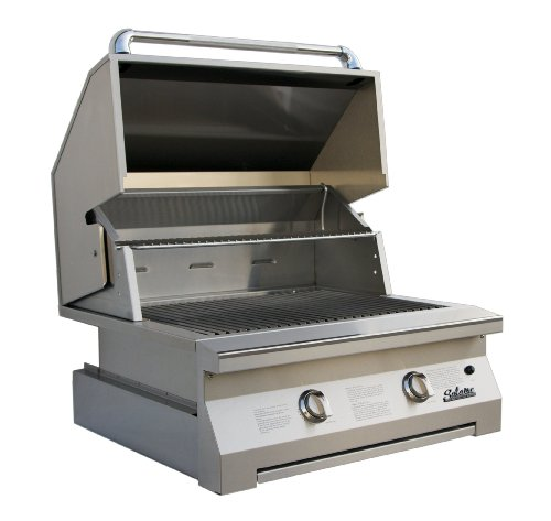 Solaire 30-Inch Infrared Propane Built-In Grill, Stainless Steel