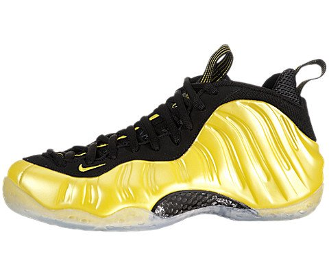 NIKE AIR FOAMPOSITE ONE MENS 314996-330 (11, ELECTROLIME/ELECTROLIME-BLACK)