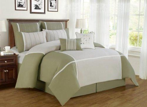 Green Satin Sheets front-127013