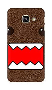 Amez designer printed 3d premium high quality back case cover for Samsung Galaxy A3 (2016 EDITION) (Simple domo kun)