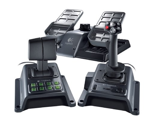 Logitech Flight System G940 Force Feedback Joystick