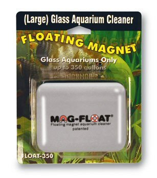 Magnetic Cleaner for Glass Aquariums - up to 350 gal.