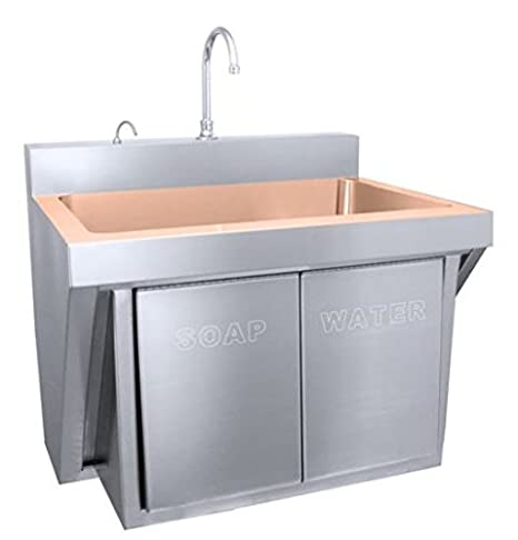 Just Cu-JKS-770-1 Cuverro Antimicrobial Surgeons Scrub Sink