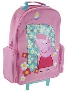 Peppa Pig - Trolley Bag Kids Luggage Wheeled Bag Suitcase