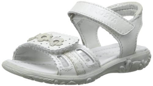 Ricosta Girls Marisol M Sandals 59-6424500-814 White Pearlised 12 UK Child, 31 EU