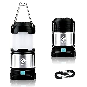 Etekcity Portable Rechargeable LED Camping Lantern Flashlights & 4400mah USB Power Bank