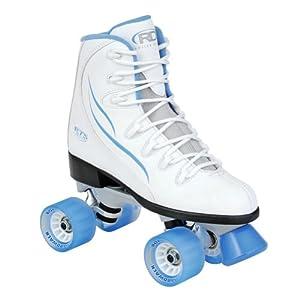RTS 400 Women's Roller Skate, White, Size 9