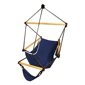 Hammaka Outdoor/Patio/Lawn & Garden Hammocks Cradle Swing Hanging Air Chair Hammaka Hunter Green Ou