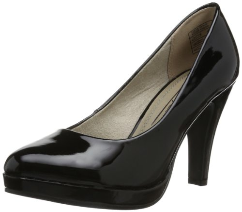 Jane Klain Womens 224 707 Plateau Black Schwarz (black 5) Size: 38